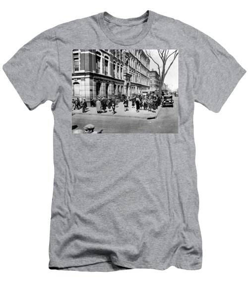School's Out In Harlem Men's T-Shirt (Slim Fit) by Underwood Archives