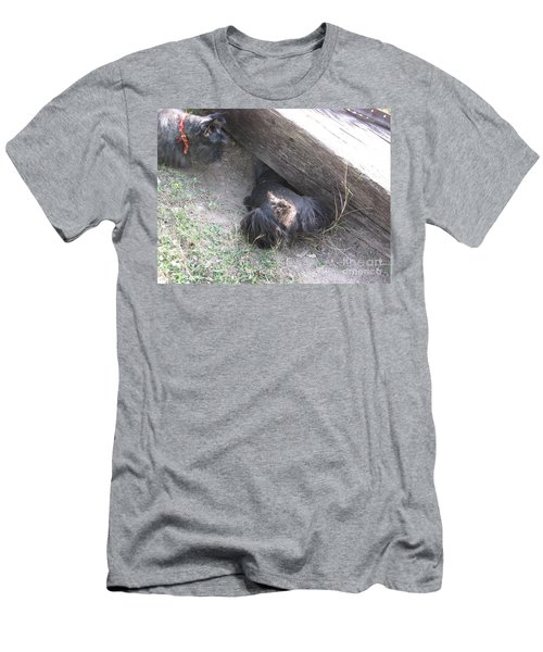 Scotty Armadillo Dance Men's T-Shirt (Athletic Fit)