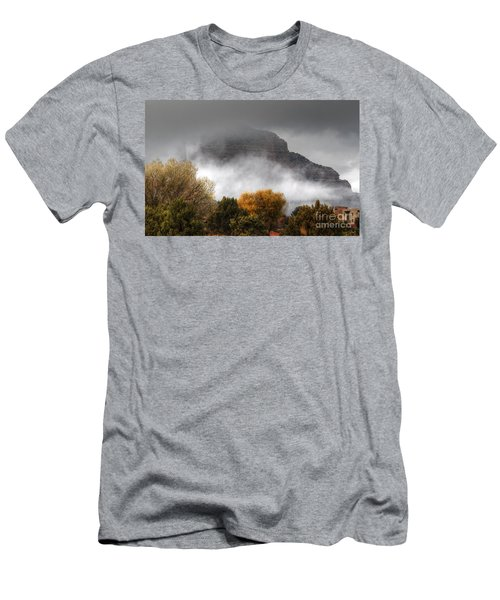 Men's T-Shirt (Slim Fit) featuring the photograph Sedona Fog by Tam Ryan