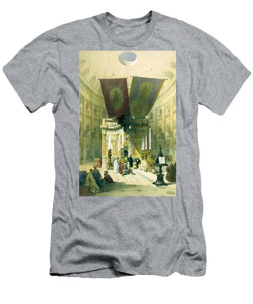 Shrine Of The Holy Sepulchre April 10th 1839 Men's T-Shirt (Athletic Fit)