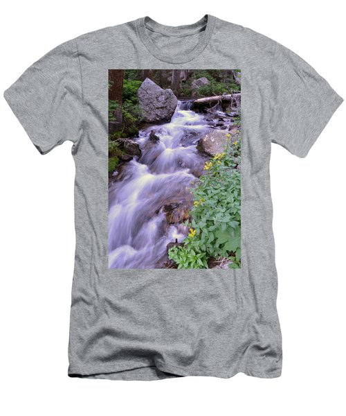 Silky Stream Men's T-Shirt (Athletic Fit)