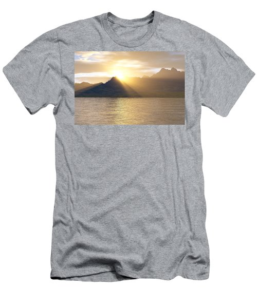 Silver Lake Men's T-Shirt (Slim Fit) by Mark Greenberg