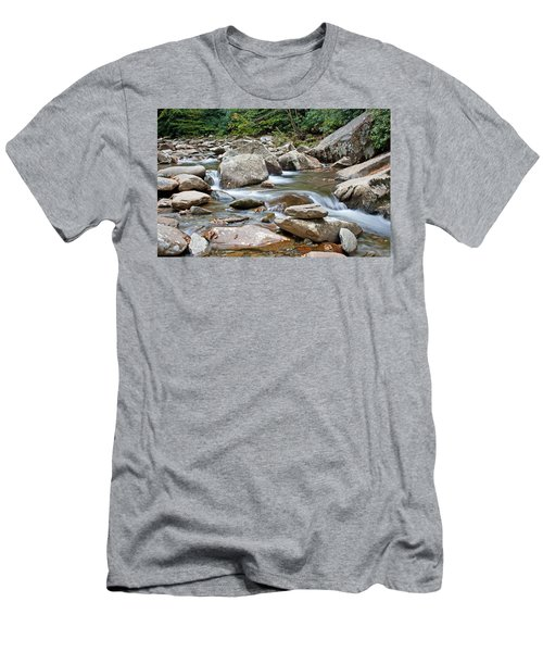 Smoky Mountain Streams Men's T-Shirt (Athletic Fit)