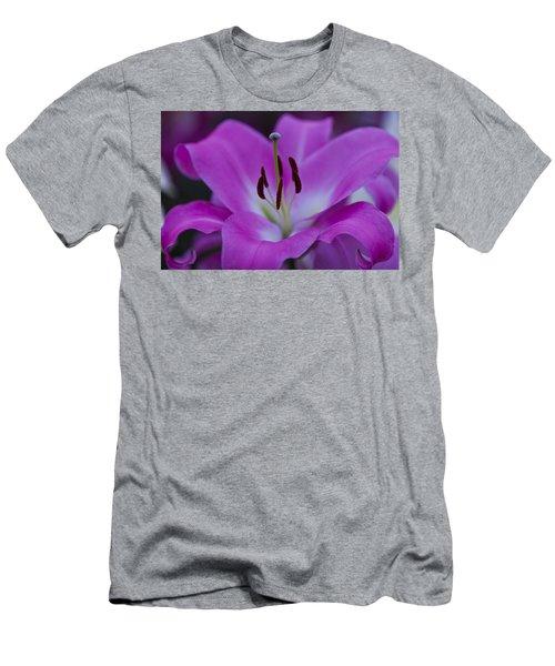 Soft Purple Men's T-Shirt (Athletic Fit)