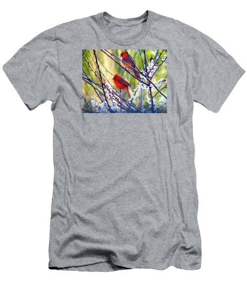 Song Of Spring Men's T-Shirt (Slim Fit) by Judy Wanamaker