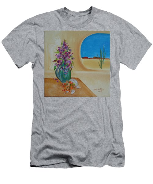 Southwestern 3 Men's T-Shirt (Slim Fit) by Judith Rhue