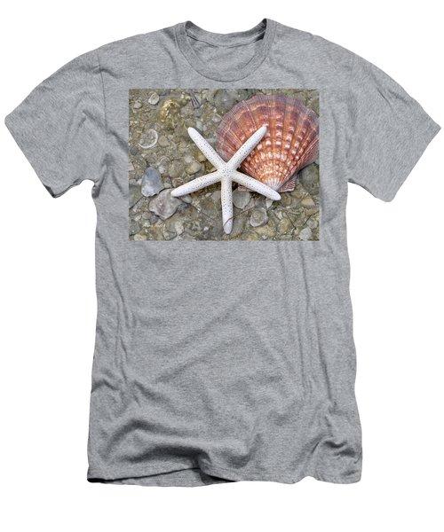 Spirit Of The Seashore  Men's T-Shirt (Athletic Fit)