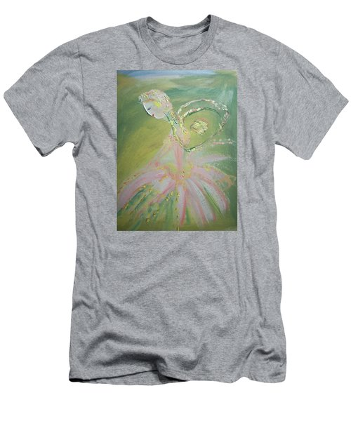 Spring Fairy Entrance Men's T-Shirt (Slim Fit) by Judith Desrosiers