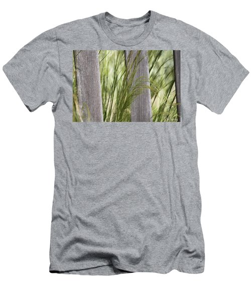 Spring Time In The Meadow Men's T-Shirt (Slim Fit) by Amy Gallagher