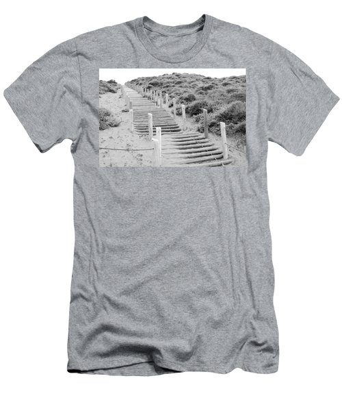 Stairs At Baker Beach Men's T-Shirt (Athletic Fit)