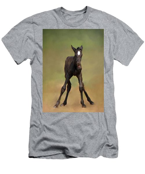 Standing On All Fours Men's T-Shirt (Athletic Fit)