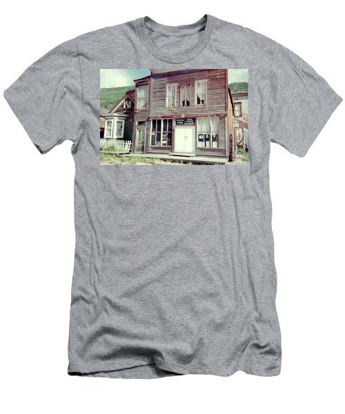 Men's T-Shirt (Slim Fit) featuring the photograph Stark Bros Store by Bonfire Photography