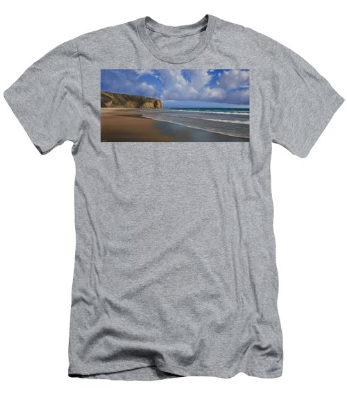 Strands Beach Dana Point Painting Men's T-Shirt (Athletic Fit)