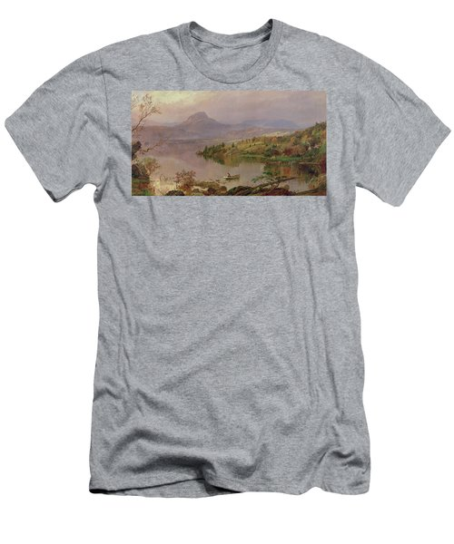 Sugarloaf From Wickham Lake Men's T-Shirt (Athletic Fit)