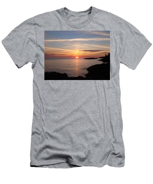 Men's T-Shirt (Slim Fit) featuring the photograph Sun Up On The Up by Bonfire Photography