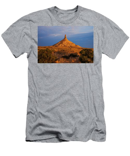 Sunrise At Chimney Rock Men's T-Shirt (Athletic Fit)