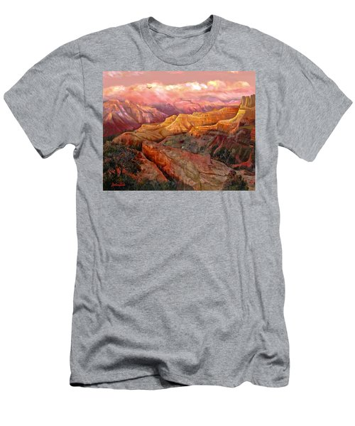 Sunset Grand Canyon Men's T-Shirt (Athletic Fit)