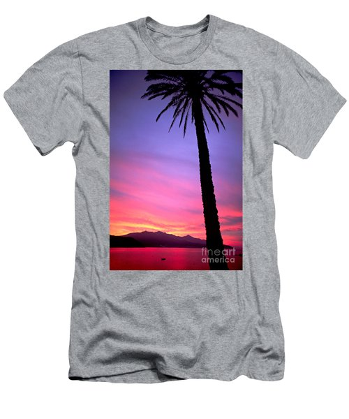 Men's T-Shirt (Slim Fit) featuring the photograph Sunset by Luciano Mortula