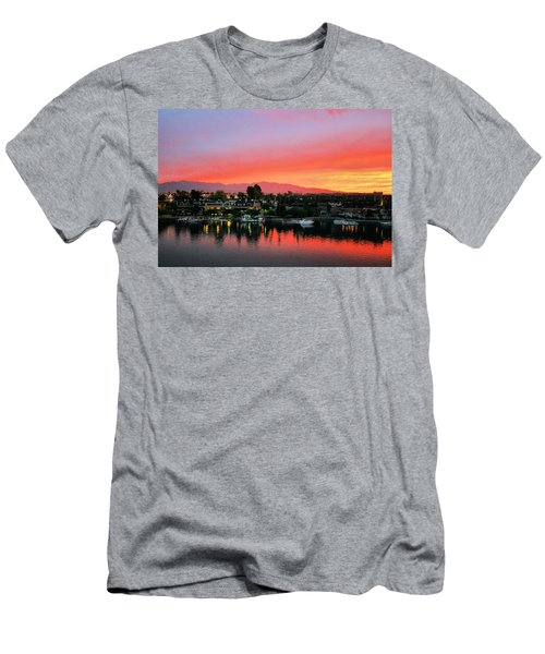Sunset On Lake Havasu Men's T-Shirt (Athletic Fit)