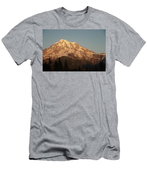 Sunset On The Mountain Men's T-Shirt (Athletic Fit)