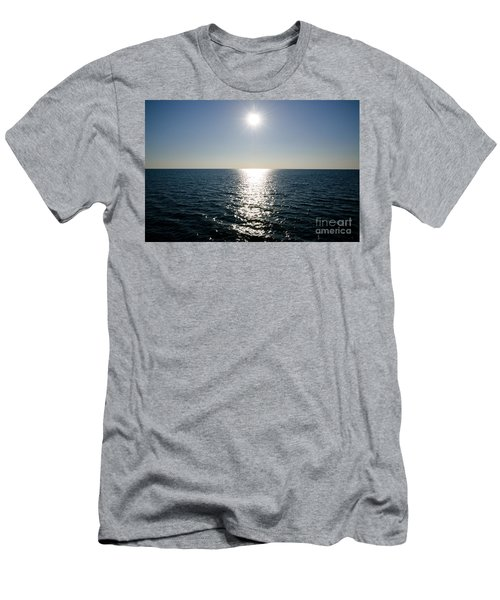 Sunshine Over The Mediterranean Sea Men's T-Shirt (Athletic Fit)