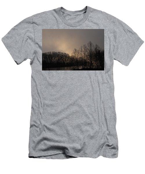 Susquehanna River Sunrise Men's T-Shirt (Athletic Fit)