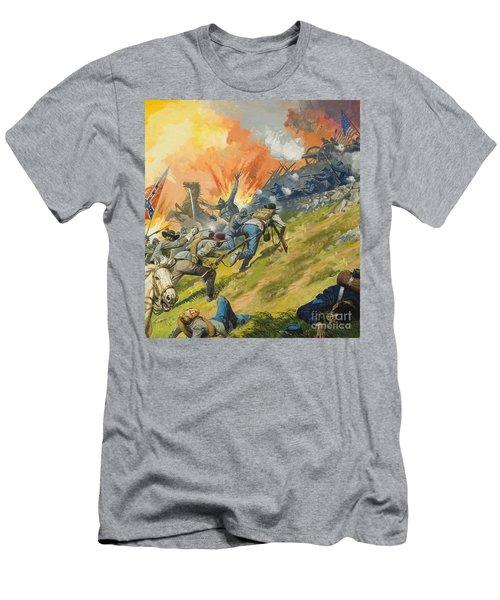 The Battle Of Gettysburg Men's T-Shirt (Athletic Fit)