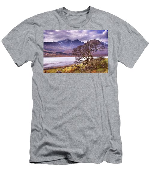 The Cuillins Skye Men's T-Shirt (Athletic Fit)
