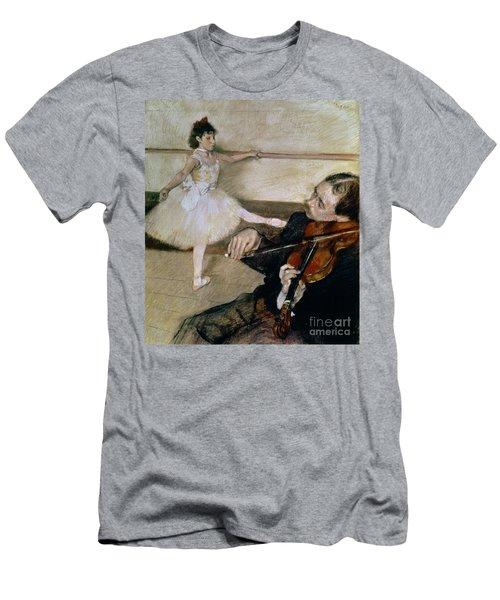 The Dance Lesson Men's T-Shirt (Athletic Fit)