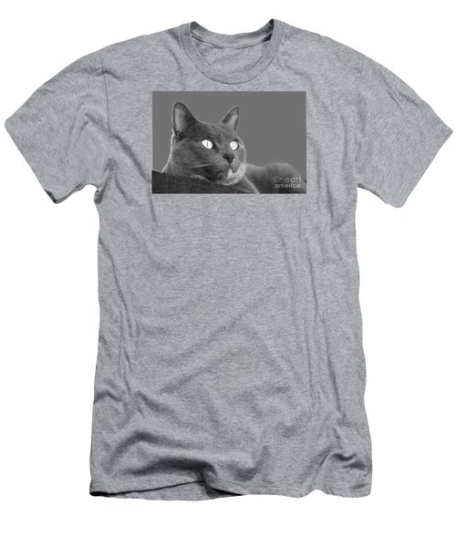 Men's T-Shirt (Slim Fit) featuring the photograph The Eyes Have It by Nareeta Martin