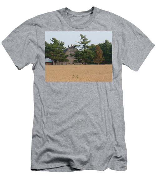 Men's T-Shirt (Slim Fit) featuring the photograph The Farm by Bonfire Photography