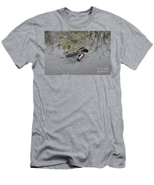 The Floating Island Men's T-Shirt (Athletic Fit)