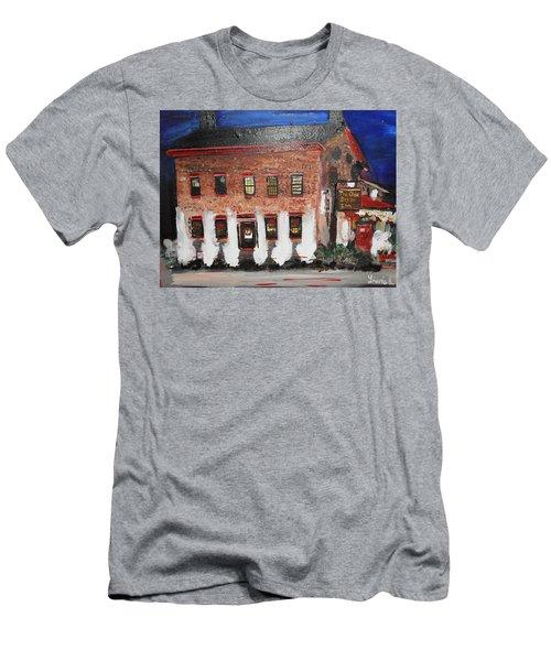 The Olde Bryan Inn Men's T-Shirt (Slim Fit) by Laurie L
