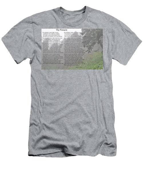Men's T-Shirt (Slim Fit) featuring the photograph The Pinnacle by Tikvah's Hope