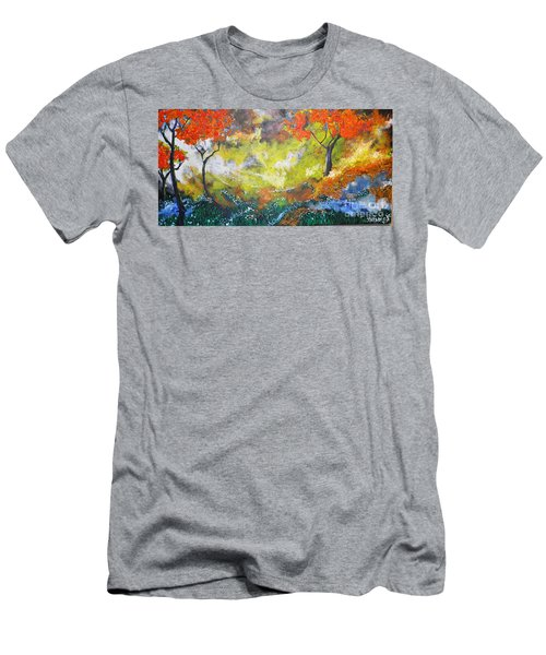 Through The Myst Men's T-Shirt (Athletic Fit)