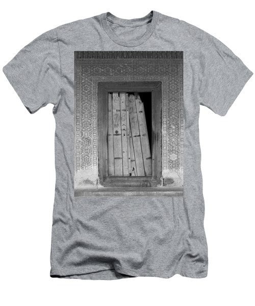 Men's T-Shirt (Slim Fit) featuring the photograph Tomb Door by David Pantuso