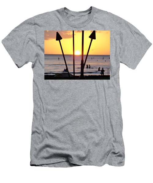 Torched Sunset Men's T-Shirt (Athletic Fit)