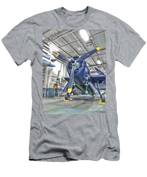 Torpedo Bomber Men's T-Shirt (Athletic Fit)