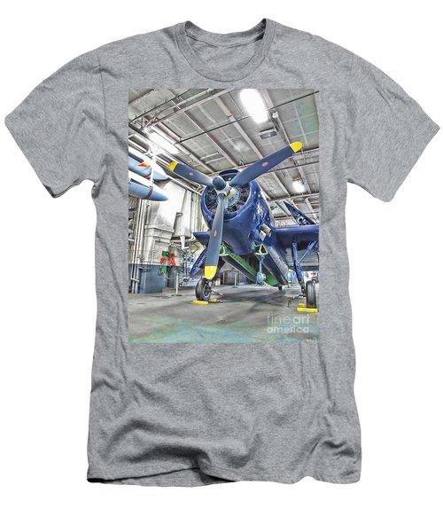 Torpedo Bomber Men's T-Shirt (Slim Fit)