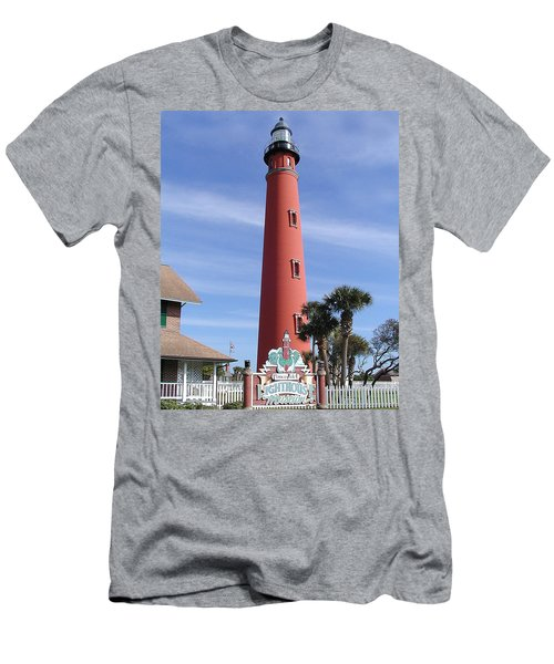 Towering Lighthouse Men's T-Shirt (Athletic Fit)