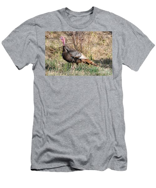 Turkey In The Straw Men's T-Shirt (Athletic Fit)