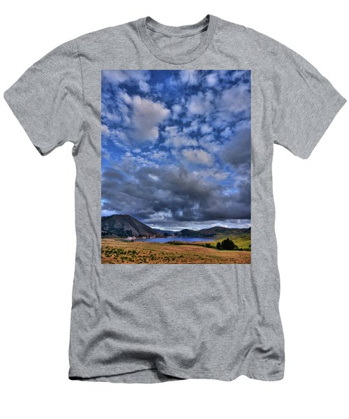 Twitchell Reservoir  Men's T-Shirt (Athletic Fit)