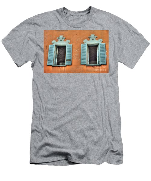 Two Windows Men's T-Shirt (Athletic Fit)