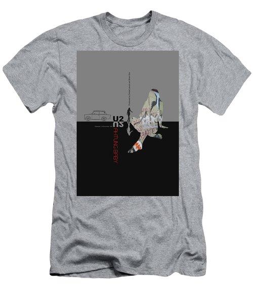 U2 Poster Men's T-Shirt (Athletic Fit)