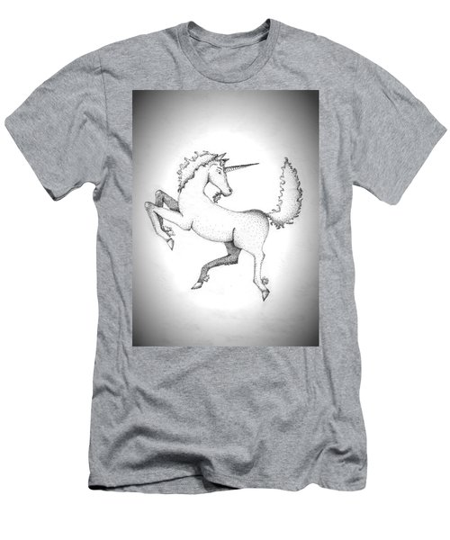 Unicorn Men's T-Shirt (Athletic Fit)