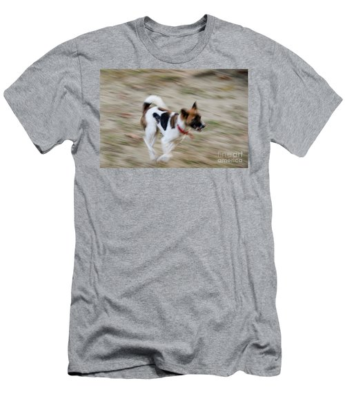 Men's T-Shirt (Slim Fit) featuring the photograph Unleashed by Fotosas Photography