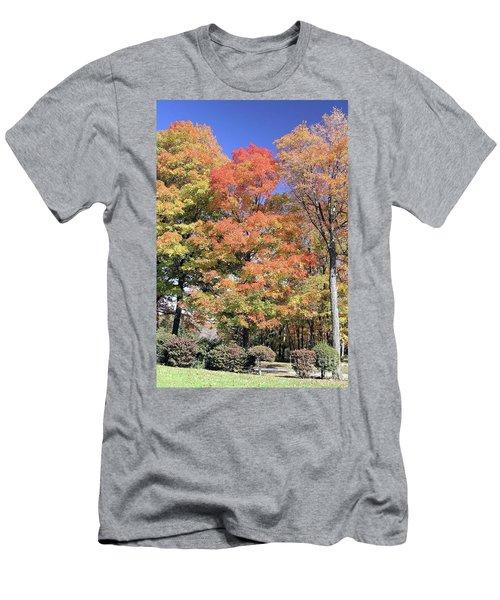Upj Campus Autumn  Men's T-Shirt (Athletic Fit)