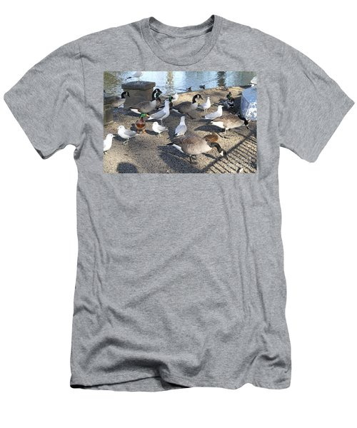 Urban Birds Men's T-Shirt (Athletic Fit)