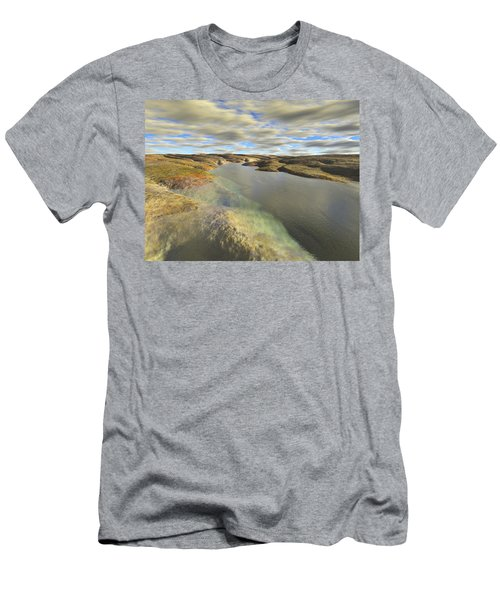 Valley Stream Men's T-Shirt (Slim Fit) by Mark Greenberg