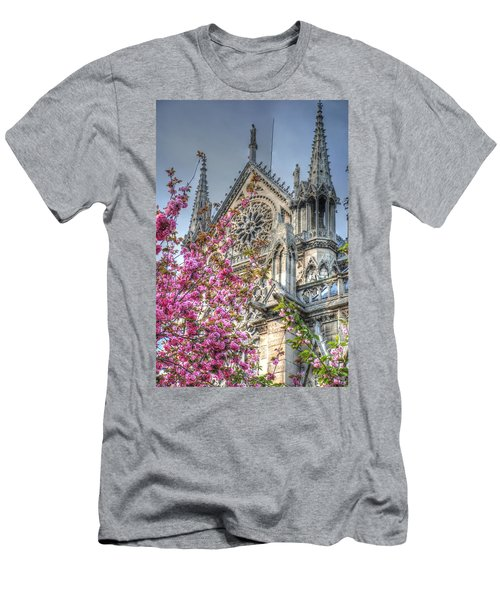 Vibrant Cathedral Men's T-Shirt (Athletic Fit)